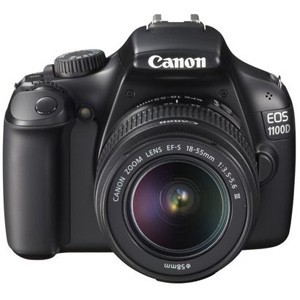 Canon EOS 1100D Kit Advanced, compact and affordable: your first steps into the world of DSLR photography, made simple with Canon EOS 1100D.