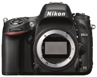 Nikon D600 Body Compact and lightweight body — the smallest and lightest among Nikon FX-format models