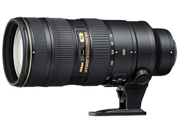 Nikon 70-200mm f/4G ED VR AF-S Nikkor Telephoto zoom lens compatible with the Nikon FX format, and covering the 70–200-mm range of focal lengths with a fixed maximum aperture of f/4